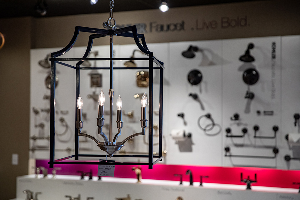 light showroom